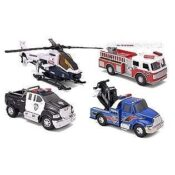 The Mighty Fleet Motorized Assortment are built to look like the real thing! These vehicles can handle any mission. With realistic detailing, hyper-lighting, and cool sound effects it really brings the action to life!