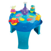 The Lamaze 3-in-1 Airtivity Center features over 8 activities for little ones to discover. With 3 ways to play watch as babies discover how toys move using air power. Features include spinning starfish, fishtail flipper, waving seaweed and more!