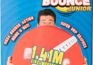 Say hello to the bounciest inflatable ball the world has ever seen. Cleverly engineered for maximum bouncability. Mega Bounce is 45cm/18inches of awesomeness that's guaranteed to cause a commotion.