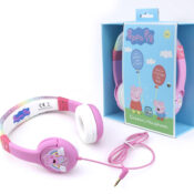 Our Children's headphones are designed with young children in mind and are sound safe to enhance screen time. These headphones are packed in 100% card paper and it's recyclable and environment friendly.