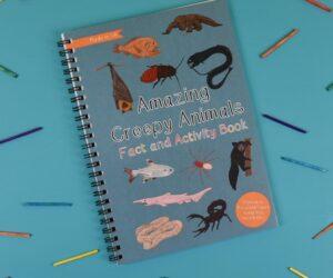Amazing Creepy Animals Fact and Activity Book