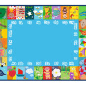 Welcoming In the Night Garden to our Aquadoodle range, now you can test you're A-Z knowledge of all your favourite characters with the new colourful mat.