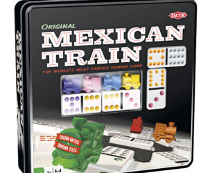 Start building your own domino train or add dominoes to the Mexican Train. If you're the first player to get rid of all your dominoes, you win the game! Age 7 years+