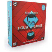 Based on the hit BBC2 show hosted by Richard Osman, the House of Games board game us the ultimate test of knowledge and skill. Enjoy some of your favourite challenges from the show in the comfort of your home. team up to tackle some trivia or face off against each other in the iconic Answer Smash. Who will be the House of Games champion in this competitive compendium of games?