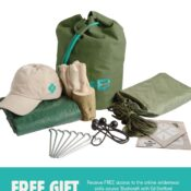 Developed In collaboration with Ed Stafford, The Shelter Kit is the highest spec we offer containing equipment for real outdoor adventure.