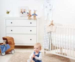 The beautiful nostalgic Peter Rabbit Signature Collection has been created to help parents and grandparents share happy memories and traditional values of their own childhood with their children. This beautiful infant keepsake collection includes ring rattles, comforters and soft toys.