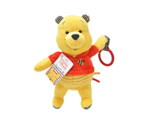 The bright and colourful Winnie the Pooh A New Adventure Activity Toy features textures and crinkles that are perfect for stimulating senses and engaging little imaginations and comes complete with a hoop for easy attachment for fun on the go!