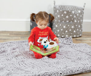 The award-winning That's Not My… collection is based on Usborne's best-selling series of touchy-feely board books. The range features soft toys and developmental comforters of many best-selling characters from the picture books including Puppy, Flamingo, Monkey and Dinosaur.