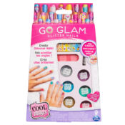 The Cool Maker GO GLAM Glitter Nails Kit comes with everything you need to create and customise shimmering manicures. With six different colours of glitter to choose from, there's so many ways to sparkle.