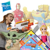 Hasbro's full year range available including FOB lines. Nerf, Play-Doh, Disney Princess, Games, Avengers, Spiderman, Star Wars, My Little Pony and much more
