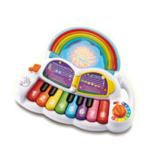 Explore music, colours and counting while creating a dazzling lightshow with the Learn & Groove® Rainbow Lights Piano™