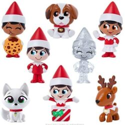 Each mystery bag contains an adorable Scout Elf or Elf Pets mini figure for collecting, trading, and playing. With distinctive characteristics modeled after traditional Scout Elves and Elf Pets.