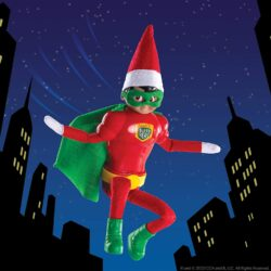 CLAUS COUTURE MIGHTY SUPERHERO OUTFIT - RRP £9.99