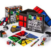 (MMOAS7101) A Special limited edition set celebrating the 40th anniversary of the world famous Rubik's cube. Complete in a collectors gift box, and bursting with Rubiks inspired Magic Tricks and Illusions.