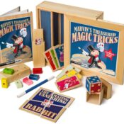 (MME 0108) Marvin's Magic proudly presents a superb collection of wooden tricks that have been especially designed to be easy-to-perform, yet guaranteed to amaze and amuse. Scan the QR code enclosed to access video instructions and bonus tricks.