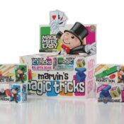 (MME 0126) Simply Magic Pocket Money Tricks presented in a CDU by Marvin's Magic. Four of our Favourite Tricks to Collect. Complete with bonus augmented reality tricks and video instructions via the Free Marvin's Magic App.