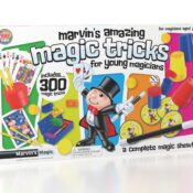 (MME 0130) Marvin's Simply Magic 300 Tricks Collection. An amazing bumper selection of easy to perform tricks, making it a great choice for any budding magician. Includes Bonus augmented reality tricks and video instructions.