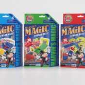 (MME3001, MME 3002, MME 3003) Marvin's Amazing Magic Tricks. Ages 6+. A selection of 30 easy-to-learn and perform magic tricks. Colourful props with simple to follow instructions. 3 Sets to collect within this assortment.