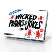 (MMWPJ) Wicked Pranks & Jokes. A hilarious collection of mischief making jokes, seriously funny stunts and up-to-date pranks for the modern day joker.