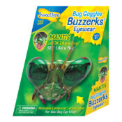 Give kids a real bug-eyed view of the world with hinged prismatic lenses that allow true compound insect vision.
