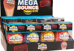 We've designed this super high bounce ball to be one of the bounciest in the world! Able to bounce way higher than a 2-storey building, the Wicked Mega Bounce XTR really does as its name suggests - produces MEGA bounces!