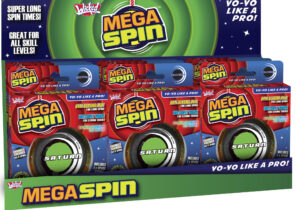Introducing Wicked Mega Spin, the coolest yo-yo range around! Featuring four different models for different play styles, you'll be 'walking the dog' and 'splitting the atom' in no time!