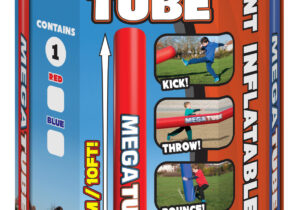 Get ready for 10 feet of fun with the massive MEGA TUBE!  Kick it, throw it, bounce it, battle with it...whatever you do, Mega Tube is sure to grab the attention of everybody down at the park!
