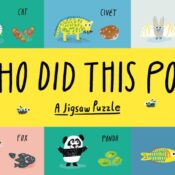 Following the bestselling matching game and bingo, Who Did This Poo is an 100-piece jigsaw that links animals to their poo. A sure fire hit with kid's! Shortlisted for Gift of the Year 2021 - Children's, Educational category