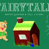 Reunite characters and props from your favourite fairy tales in this fun new memory game. Simply match three objects to create a story: Cinderella + pumpkin carriage + glass slipper. Rediscover 15 classic fairytales with Fairytale Memory Game!