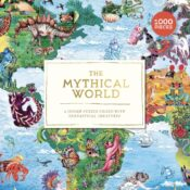 Discover the mythical creatures from around the world with this beautiful, colourful 1000-piece puzzle. The Mythical World is a charming jigsaw for puzzlers of all ages!