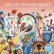 Alice's Wonderland is an 1000-piece curiouser and curiouser puzzle, that takes you deep into Wonderland with lots of references and characters to discover as you build.