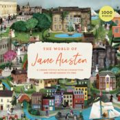 The World of Jane Austen is a gorgeous journey into Regency England with all the houses and characters from Austen's novels. Shortlisted for Gift of the Year 2021, Branded Gift category.