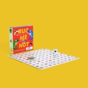 Be the first to get your frog from one corner of the board to the opposite corner, feasting on insects along the way! With a mix of skill and chance Bug Me Not! is fun for the whole family!