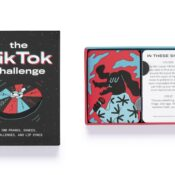 Take on the TikTok Challenge! A set of 100 cards with over 200 crazy challenges for you to film and upload, from lip syncs, dances and dares to ridiculous pranks.