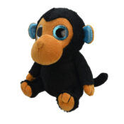Orbys Plush Monkey - Cute, brightly coloured, fun collectables with large glittery eyes. Farm yard animals to sea life creatures