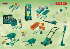 Let's go into the garden! With this selection of products, outdoor fun is guaranteed and gives the little ones the feeling of doing real gardening together with their parents.They are learning through play that working in and with nature is real fun.