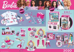 With our Barbie beauty products, you're all set for a cozy beauty-day which will make you feel just as beautiful and grown-up like moms and models.Putting on makeup and getting ready is fun for kids and trains fine-motor skills, imagination and creativity.