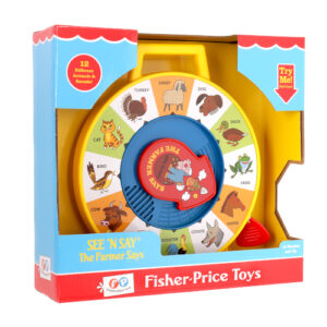 Teaches children about 12 different animals and the sounds they make. Beautiful replica of a retro 60's classic!
