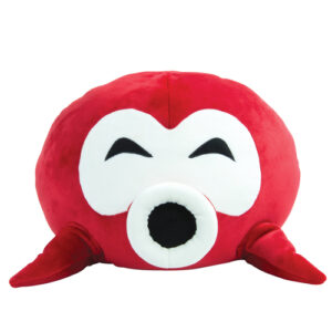 Unlike other ordinary plush, it has a unique squishy texture and is super soft to touch. Officially licensed Nintendo product.Super soft and huggable plush.