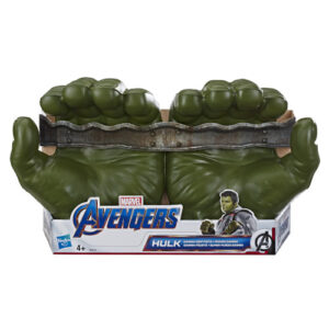 Inspired by the Avengers movies, this is the perfect role playing toy. Awesome Gamma Grip Fists make you feel like the Hulk.
