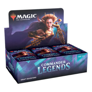 Each booster pack comes with 20 MTG cards inside. 70+ legends to play with in this set.