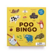 Discover all you ever wanted to know about poo – and more – with Poo Bingo! Featuring 24 animals and their uniquely shaped poos, this is the bingo game to end all bingo games.