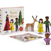 Press out and play along as you read! Eight press-out sheets give you all the characters and props you need to re-enact the story of Snow White and the Seven Dwarfs.