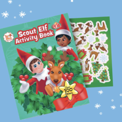 This ultimate Christmasactivity bookfeatures all your favoUrite characters from Santa's North Pole and has 100+ pages packed with activities and stickers!