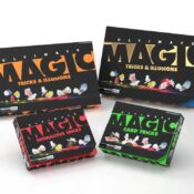 (MMB5715) Ultimate Magic Card Tricks by Marvin's Magic. A bumper box filled with card tricks for ages 8+. 250 tricks to get you on your way to becoming an expert card magician.