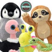 Exclusive range from Wild Planet. Over 150 handmade characters, keyrings and pens over two ranges, all manufactured with premium quality fabrics that are super soft to the touch, realistic and cuddly