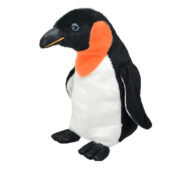 Wild Planet Emperor Penguin - Realistic premium quality plush with fun facts on their tag. Farm yard animals to sea life creatures