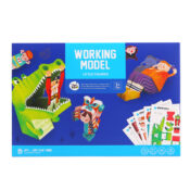 Working Models - Little Figures - Safe and easy to assemble, these creations will exercise the brain, enhance the flexibility of little hands and develop concentration whilst they have fun and make stories as they craft