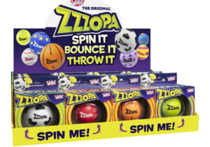 Spin it! Bounce it! Throw it! Introducing the Wicked Zzzopa – the world's first bouncing ball with high speed spin technology! Each Zzzopa contains a high-quality bearing that sits on an axle within the centre of the ball.