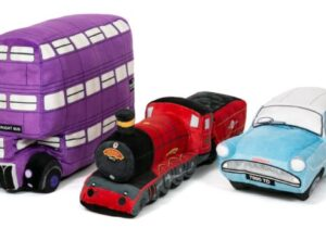 Explore the Harry Potter vehicles plush range from The London Toy Company. Collect the 3 famous vehicles from the franchise in soft, cuddly form!   Officially Licensed Product